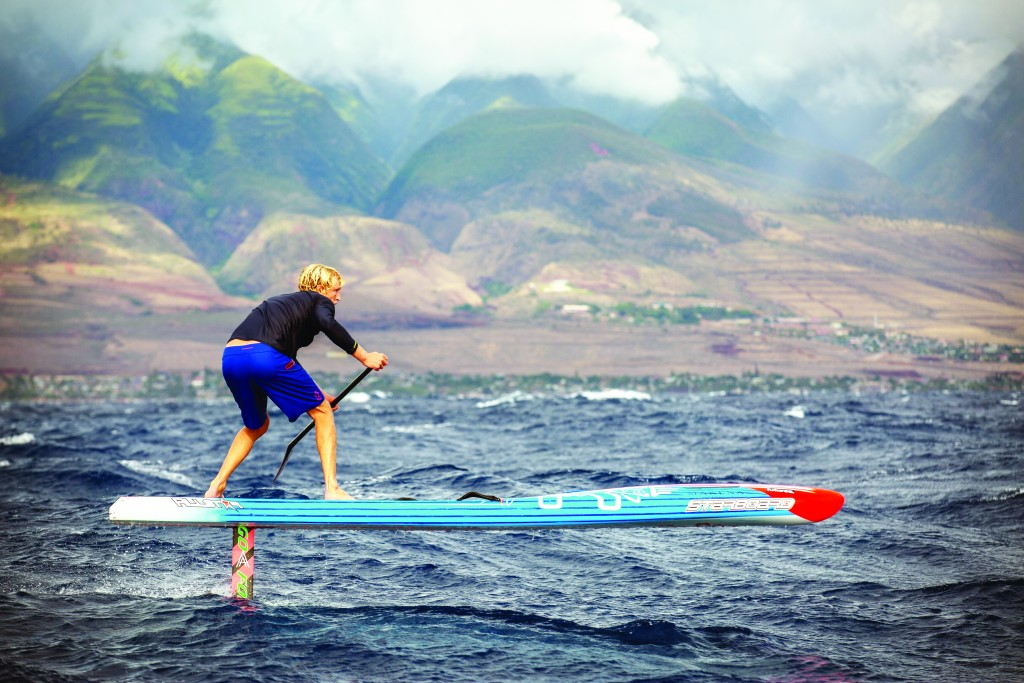 Zane Kekoa Schweitzer - Photo by Matty Schweitzer - 2014 SUP Champion Stand up paddle maui aloha surf