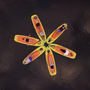 SUP World flow motion aerials