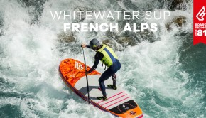 Whitewater SUP french Alps world