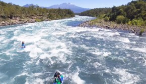 Petrohue River Paddle Boarding