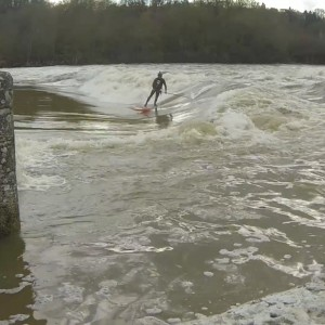 cher river wave surfing SUP World
