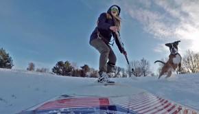 Snow SUP Dog World