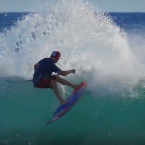 Hawaiian waterman Zane Schweitzer SUP World