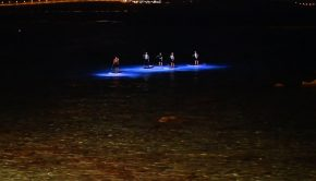 Mojosurf LED Night Paddle SUP World