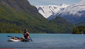 Alaska Cooper Landing SUP world