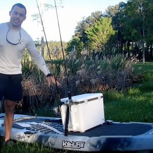 SUP fishing world