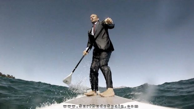 Executive Surfing SUP world