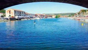 Bosa river Italy SUP world