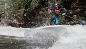 Miles Harvey SUP River Surf Ninja