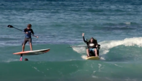Dogman SUP Surfing: The long, the short and the sideways.