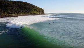 Perfect Surf at Raglan - New Zealand's Longest Point Break Lit Up