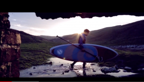 Loco Stand Up Paddle Surfing In Wales, UK