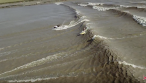 Robby Naish on the Amazon Tidal Wave!