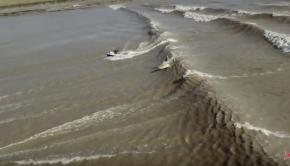 Robby Naish on the Amazon Tidal Wave!