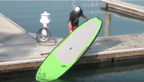 How To launch and land your SUP with Mike T