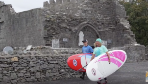 Exploring Ireland by Stand Up Paddleboard