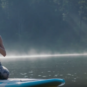 """""""No Calm Sea Ever Made a Skilled Sailor"""" - SUP Yoga with Wanderlust"""