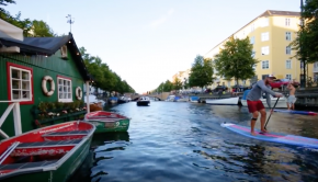Experience Copenhagen Canals by SUP with Trevor Tunnington