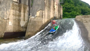 2017 R LABO SUP FreeStyle River SUP riversup trick