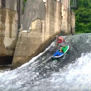 2017 R LABO SUP FreeStyle River SUP riversup trick