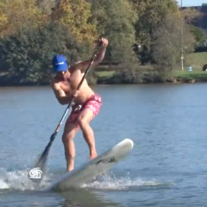 SUP Foil : Flat Water Take Off explained