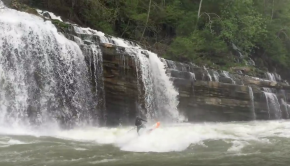East Coast Whitewater SUP - Mike Tavares - Badfish SUP