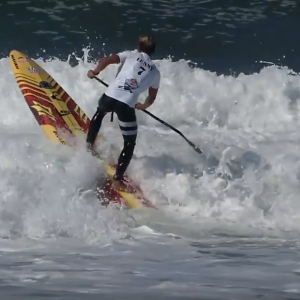 How to Paddle Out in Bigger Surf on a SUP