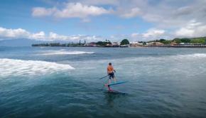 Zane Schweitzer Hydrofoil Surfing on Maui