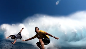 Kai Lenny Big Wave Surfing JAWS Peahi Challenge 2017