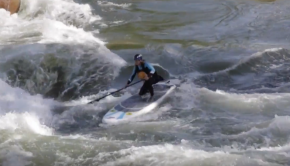 Tips For Paddling Through Rapids On Your SUP