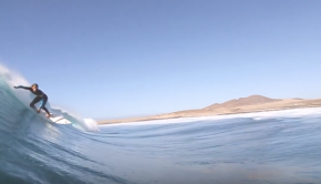 This Woman Loves to SUP Huge Waves over Sharp Reefs
