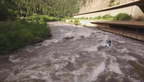 Shoshone 'Man Eater' Rapid: Spencer Lacy