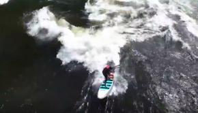 Brittany Parker Surfing Pipeline 2016