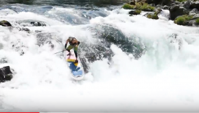 Whitewater Paddle Boarding: Deadline Falls and the Narrows on the North Umpqua River