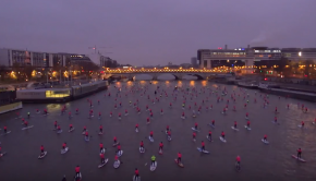 2017 Nautic SUP Paris Crossing