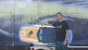 Blue Planet Easy Foiler SUP board features