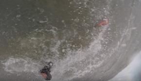 SUP SURFING big swell + big wind equals BIG DANGER