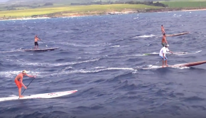 SIC Bullet Aerial Downwinder SUP Video