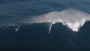 Ridge and Kai Lenny Surfing JAWS