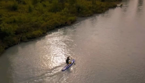 Alaska, Knik River, Blue Planet Surf SUP