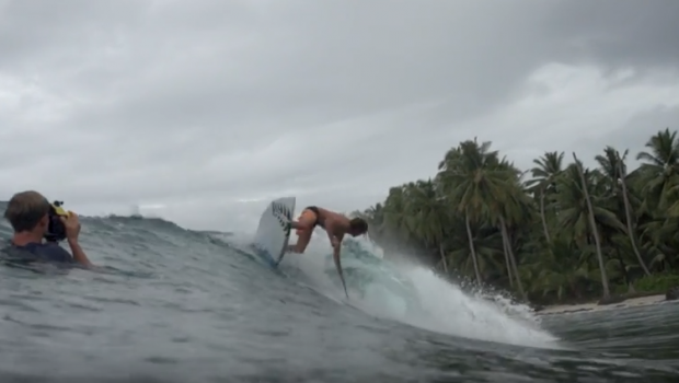 SUP Surfing: Nathan Cross Finds Paradise