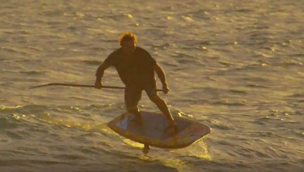 Dave Kalama on SUP Foiling Passion with Austin Kalama Ripping