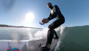 """Invisible"" Paddle - Surfing - GoPro Fusion"