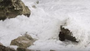 Nazare Moments #4 - HUGE WAVES smash big wave champion Ross-Clarke Jones into rocks