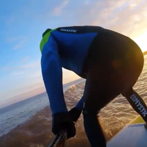 'Beast from the East' SUP Surfing