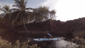 Donica Shouse Floating Yoga and Inflatable Surfing