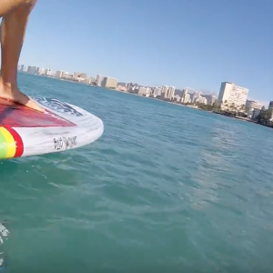Flying Fish: SUP Foil Surfing Soloshot3 Session