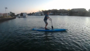 Hobie SUP peddle power