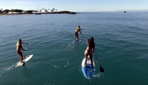 Skyla & Sofie Take Hawaii: An Island SUP Adventure