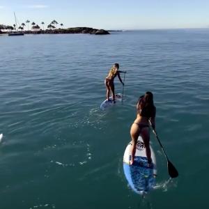 Skyla & Sofie Take Hawaii: An Island SUP Adventure